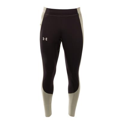 Under Armour Coldgear Reactor Run Pants Black - Front 1