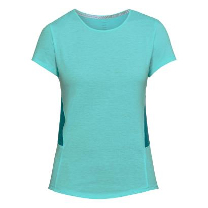 Under Armour Ladies Threadborne Swyft Tee Tropical Tide - Front