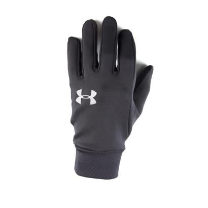 Under Armour Liner Gloves Black Kids front