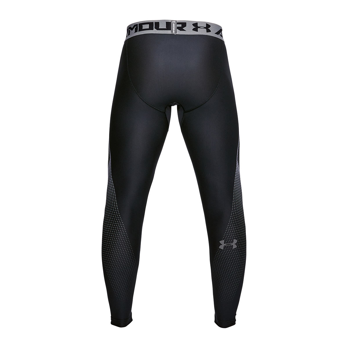 44d8331012 ... Under Armour Heatgear Graphic Compression Leggings Black - Back ...