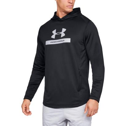 Under Armour MK1 Terry Graphic Hoodie Black - Model 1