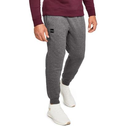 Under Armour Rival Fleece Joggers Charcoal Light Heather model 1