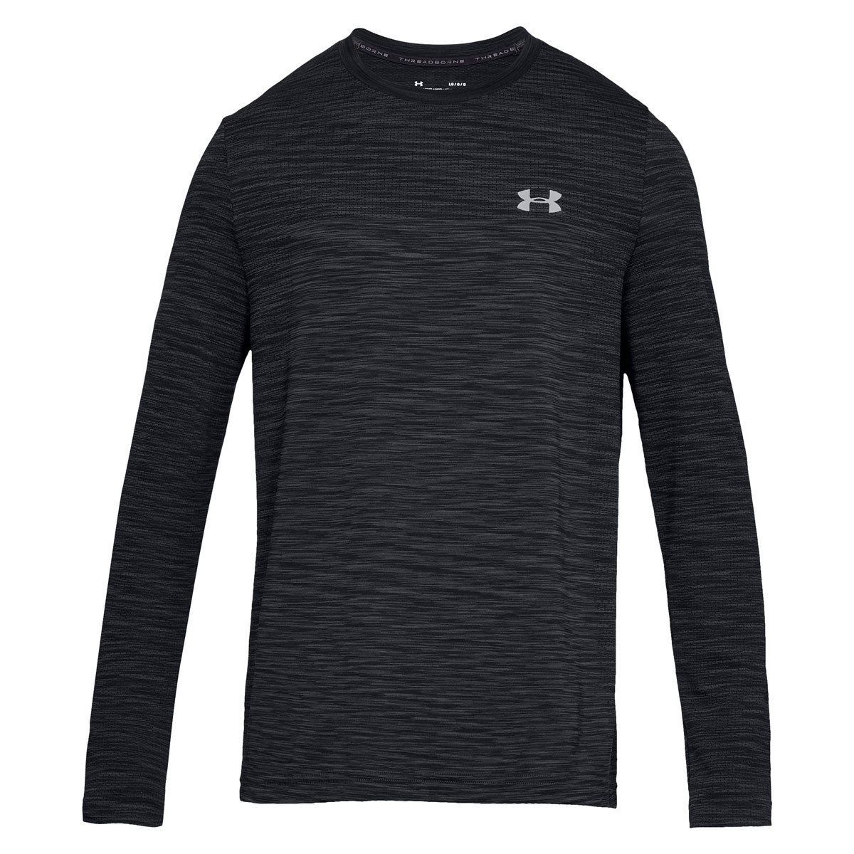 alto Deportes Kenia  Mens Black Under Armour Siphon Long Sleeved Tee Shirt   rugbystore