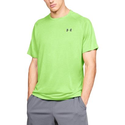 Under Armour Tech Tee Zap Green - Model 1