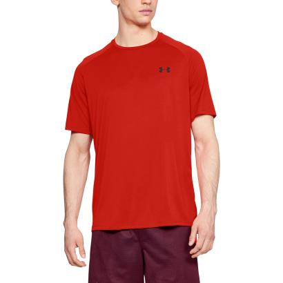 Under Armour Tech Tee Radio Red - Model 1