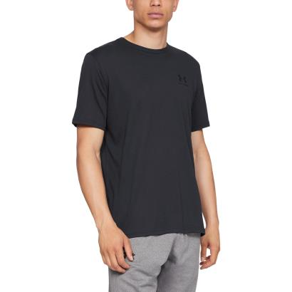 Under Armour Sportstyle Logo Tee Black - Model 1