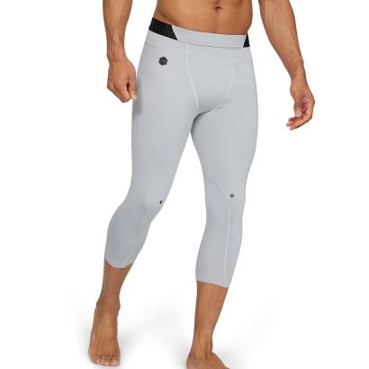 Under Armour Rush 3/4 Compression Leggings Mod Grey - Model 1