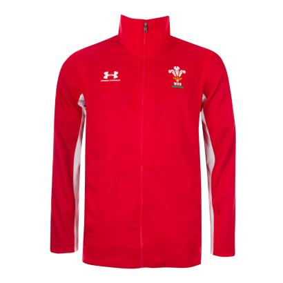 Wales Presentation Jacket Red 2020 - Front