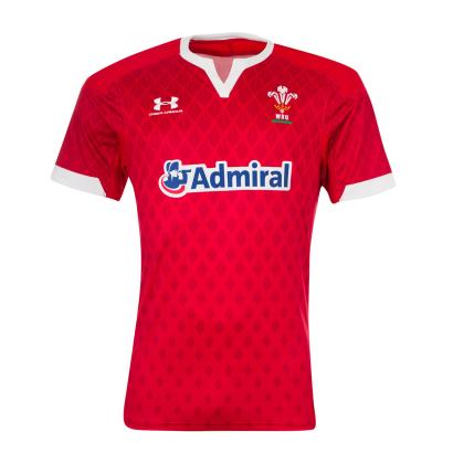 Wales 7's Home Rugby Shirt S/S 2020 - Front