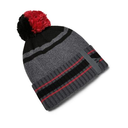 Under Armour Pom Pom Beanie Pitch Gray - Front