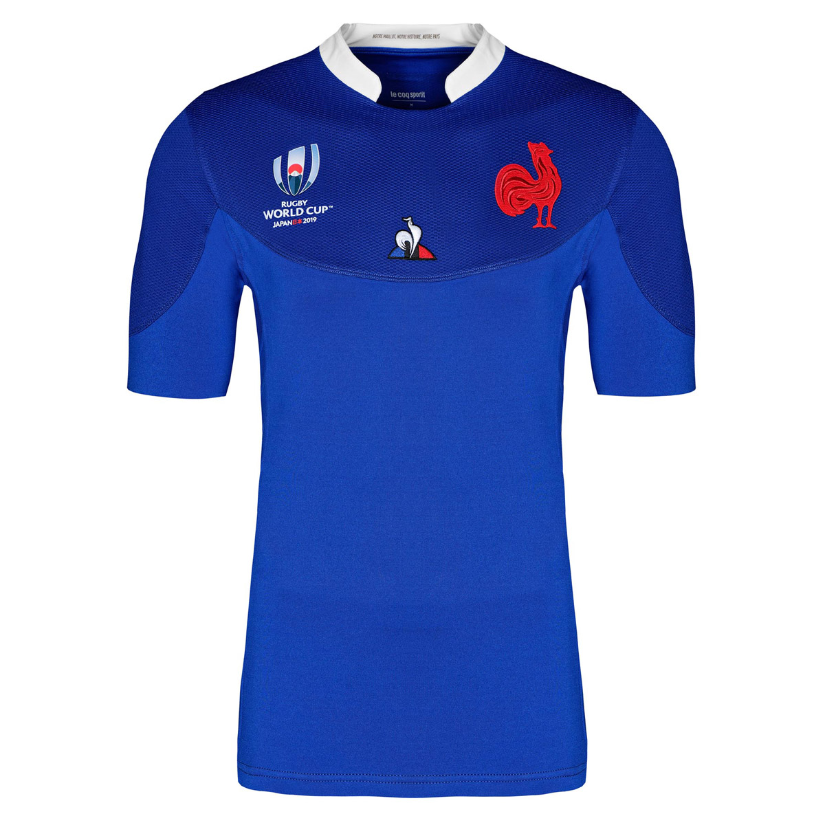 huge discount a9147 b1a3f Mens Rugby World Cup 2019 France Home Rugby Shirt (Short Sleeved)