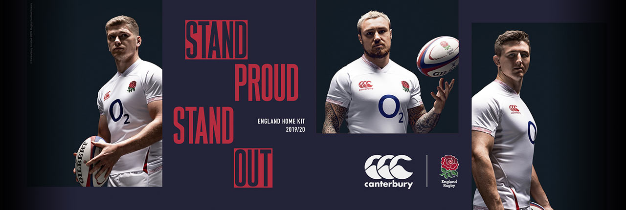England Home & Alternate shirts - AVAILABLE NOW