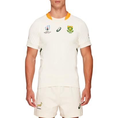 Rugby World Cup 2019 South Africa Alternate Rugby Shirt S/S - Front
