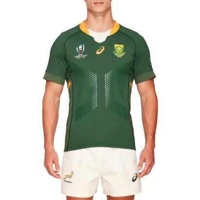 Rugby World Cup 2019 South Africa Gameday Home Rugby Shirt S/S - Model