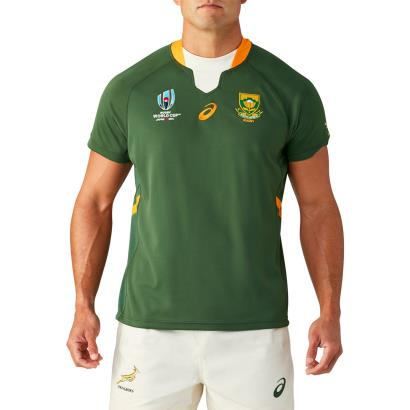 Rugby World Cup 2019 South Africa Home Rugby Shirt S/S - Front