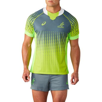 Rugby World Cup 2019 Australia Training Shirt Ironclad - Front