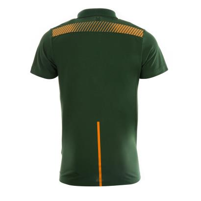 8763a653085 Mens Oak Green Rugby World Cup 2019 South Africa Media Polo Shirt ...