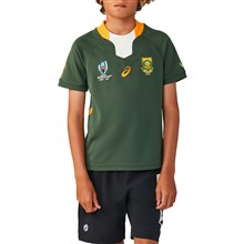 Rugby World Cup 2019 South Africa Home Rugby Shirt S/S Kids - Fr