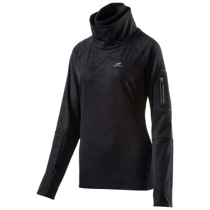 Pro Touch Womens Ruanna V Running Top Black - Front