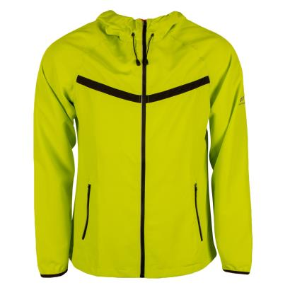 Pro Touch Tobago Running Jacket Green Lime - Front