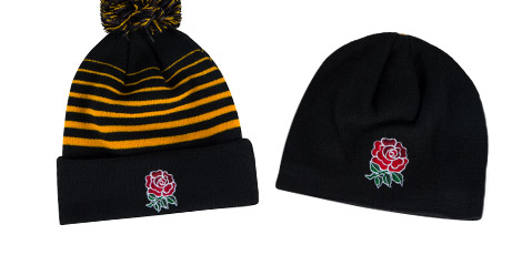 England Hats Caps Gloves and Scarfs Range