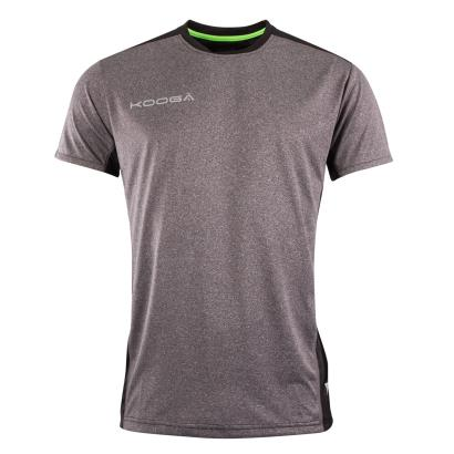 Kooga EXTREME Performance Wicking Tee Grey Marl - Front