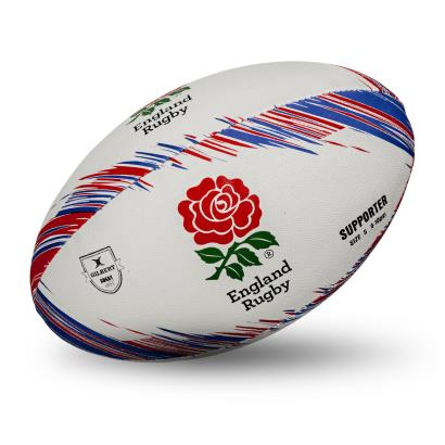 Gilbert England Supporters Rugby Ball - Front