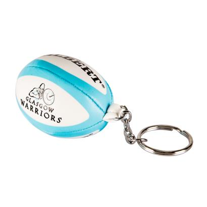 Gilbert Glasgow Warriors Keyring - Front