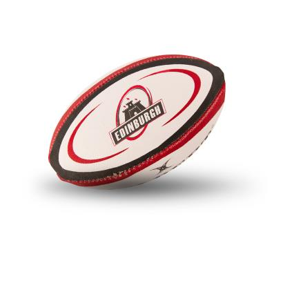 Gilbert Edinburgh Mini Rugby Ball - Front 1