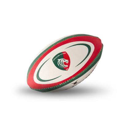Gilbert Leicester Tigers Mini Rugby Ball - Front 1