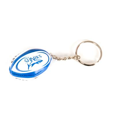 Gilbert Sale Sharks Keyring - Front