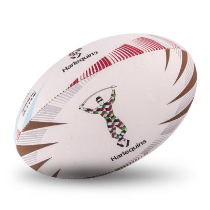 Gilbert Harlequins Supporters Rugby Ball - Front
