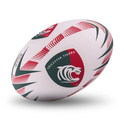 Gilbert Leicester Tigers Supporters Rugby Ball - Front