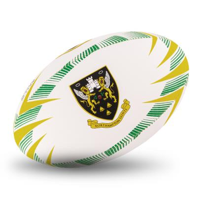Gilbert Northampton Saints Supporters Rugby Ball - Front 1