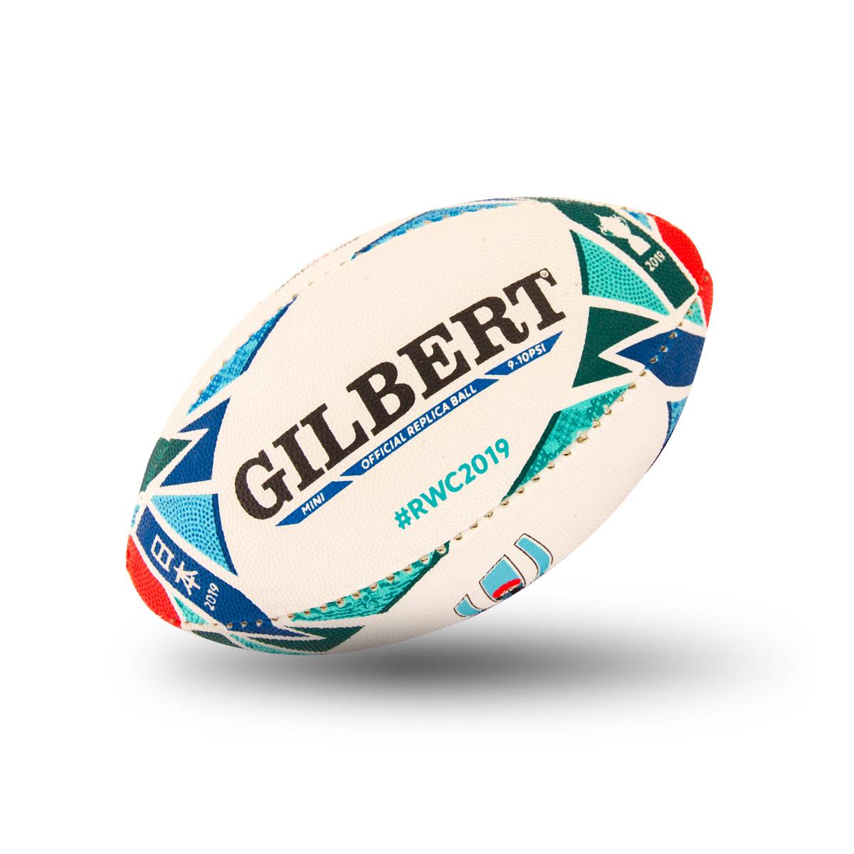 146db4e3f26dd4 Gilbert Rugby World Cup 2019 Replica Mini Rugby Ball | rugbystore