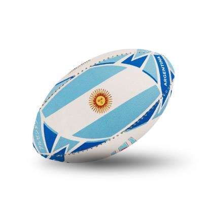 Gilbert Rugby World Cup 2019 Argentina Flag Mini Rugby Ball - Flag