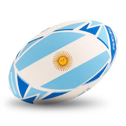 Gilbert Rugby World Cup 2019 Argentina Flag Rugby Ball - Flag