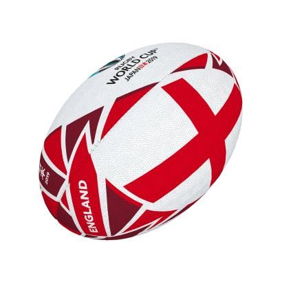 Gilbert Rugby World Cup 2019 England Flag Mini Rugby Ball - Front