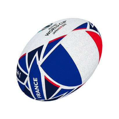 Gilbert Rugby World Cup 2019 France Flag Mini Rugby Ball - Front
