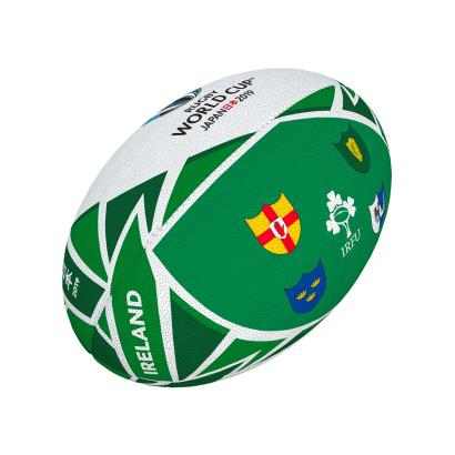 Gilbert Rugby World Cup 2019 Ireland Flag Mini Rugby Ball - Front