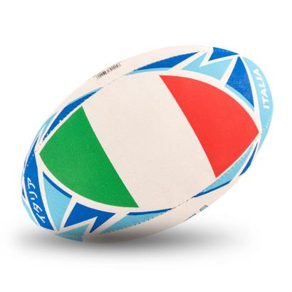 Gilbert Rugby World Cup 2019 Italy Flag Rugby Ball - Flag