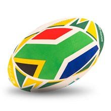 Gilbert Rugby World Cup 2019 South Africa Flag Rugby Ball - Flag