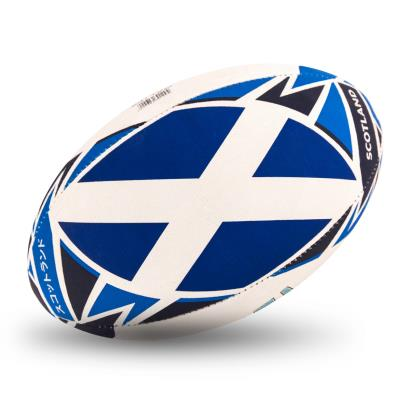 Gilbert Rugby World Cup 2019 Scotland Flag Rugby Ball - Flag