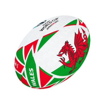 Gilbert Rugby World Cup 2019 Wales Flag Mini Rugby Ball - Front