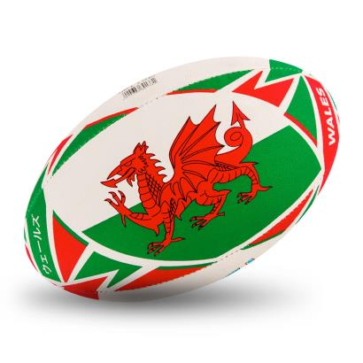 Gilbert Rugby World Cup 2019 Wales Flag Rugby Ball - Flag