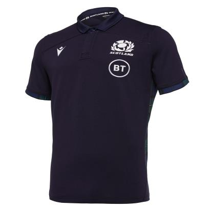 Scotland Classic Home Rugby Shirt S/S 2020 - Front