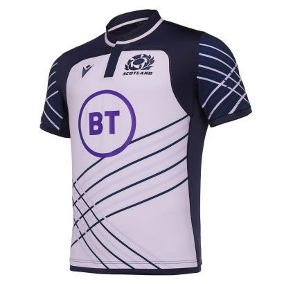 Scotland Training Shirt Lilac 2020 front