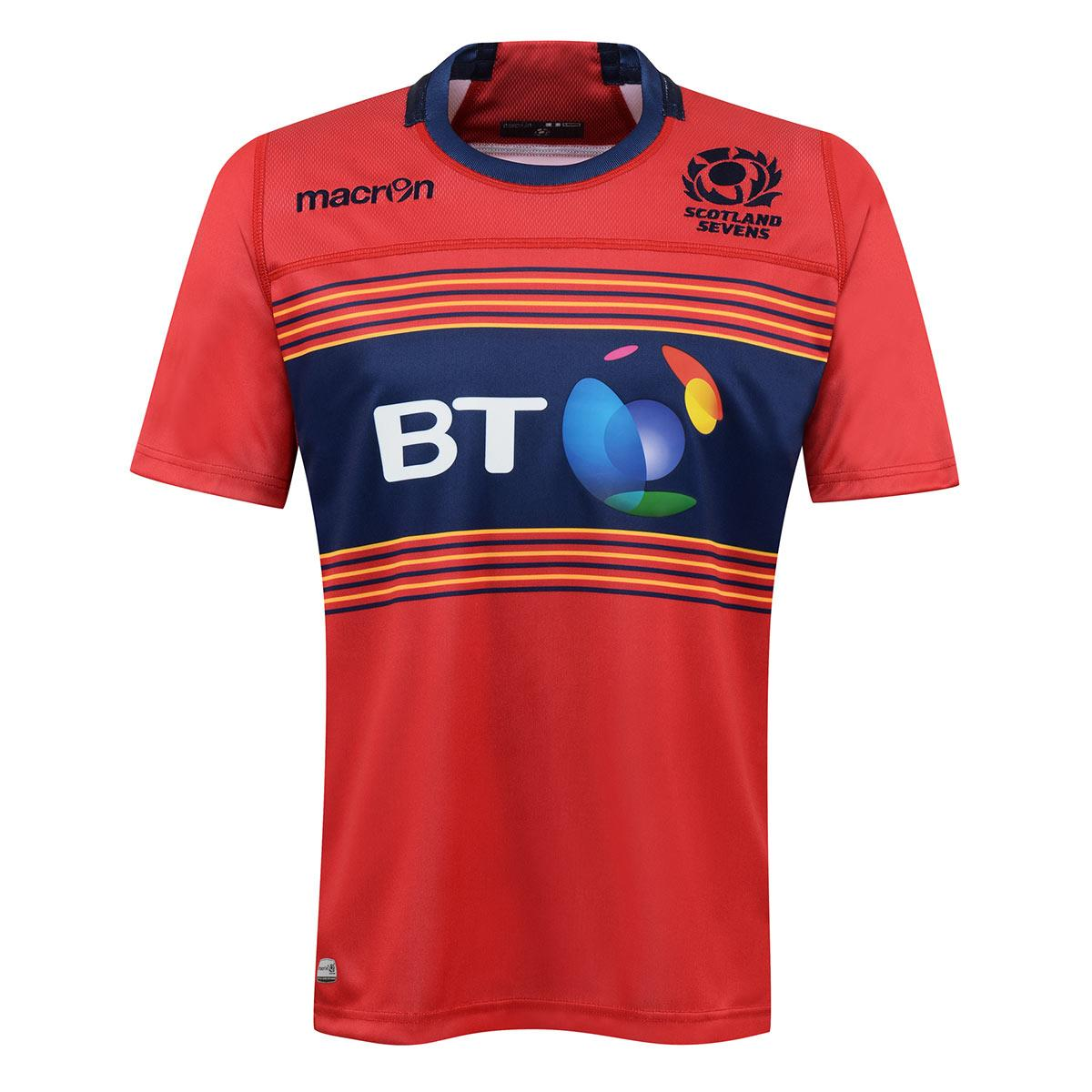 e363dc6884a 2017 Official Scotland Rugby 7s Shirt - Alternate | rugbystore