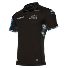 Glasgow Warriors Bodyfit Home Rugby Shirt S/S 2018