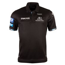 Glasgow Warriors Poly Home Rugby Shirt S/S 2018